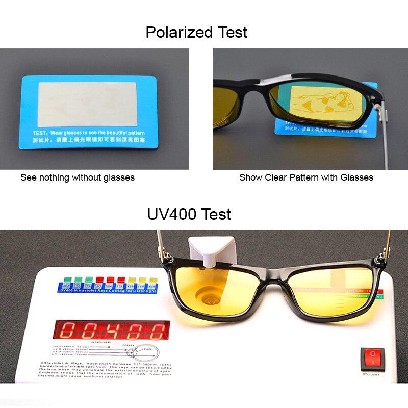 Aluminium Yellow Lens Sunglasse