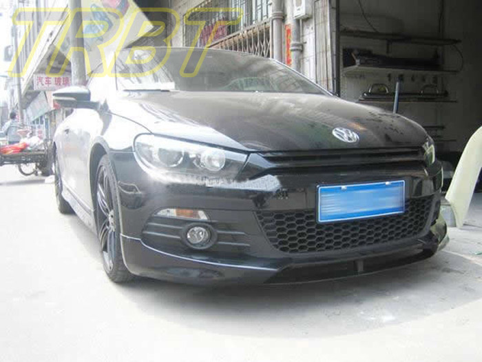 VW Scirocco Front Lip Carbon Fiber Front Cap Caracter Front Bumper Lip Case For Volkswagen Scirocco 2009 2010 2011 2012 2013 carbon fiber nism style hood lip bonnet lip attachement valance accessories parts for nissan skyline r32 gtr gts