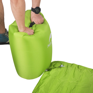 Image 3 - NatureHike ยี่ห้อ Innovative Soft Sleeping Pad Fast Filling Air Ultralight Inflatable Portable Rescue เบาะรองนั่ง