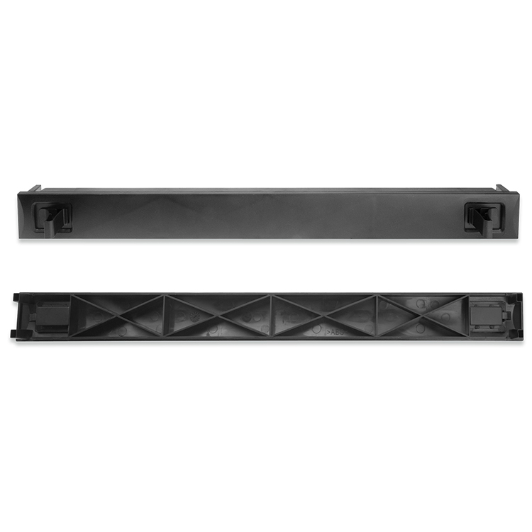 19 Inch Rack Mount 1U Blank Panel, Blind Plate, Snap-in Toolless Type, For Network Server Cabinets, Quick Installation