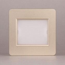 Typ 86 czujnik mikrofalowy footlights schody lampa narożna światła przejściach i korytarzach korytarz ledv lampki nocne 2 W