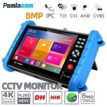 IPC XATC 7 Cal 5 w 1 HD H.265 4K CCTV IP Tester monitora 8MP 5MP 1080P AHD CVI TVI analogowe CVBS tester kamery RJ45 WIFI ONVIF