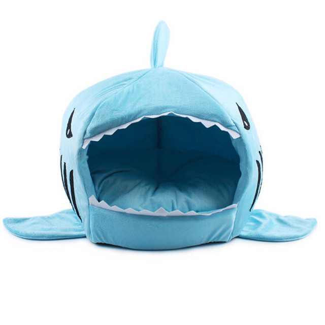 Shark Dog Bed Warm