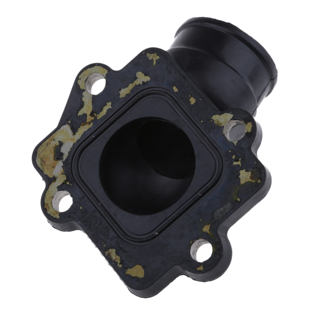 Image 2 - 1 Pcs Motorcycle Carburetor Air Joint Boot Interface Adapter Connector Pipe Intake Manifold Fit 50/90cc 2 Stroke Engine Yamaha