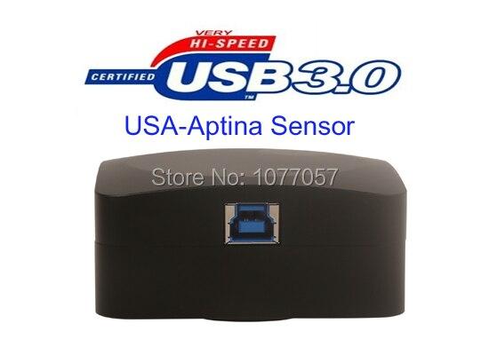 Free Shipping Super High Resolution 5 1 Mega USB3 0 Digital Microscope Camera With USA Aptina