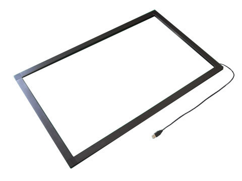 23.6 inch 6 touch points IR touch frame with glass fast shipping 23 8 inch ir touch screen with 3mm vandal proof glass anti sunshine dust proof infrared touch frame 2 4 6 10 touch points