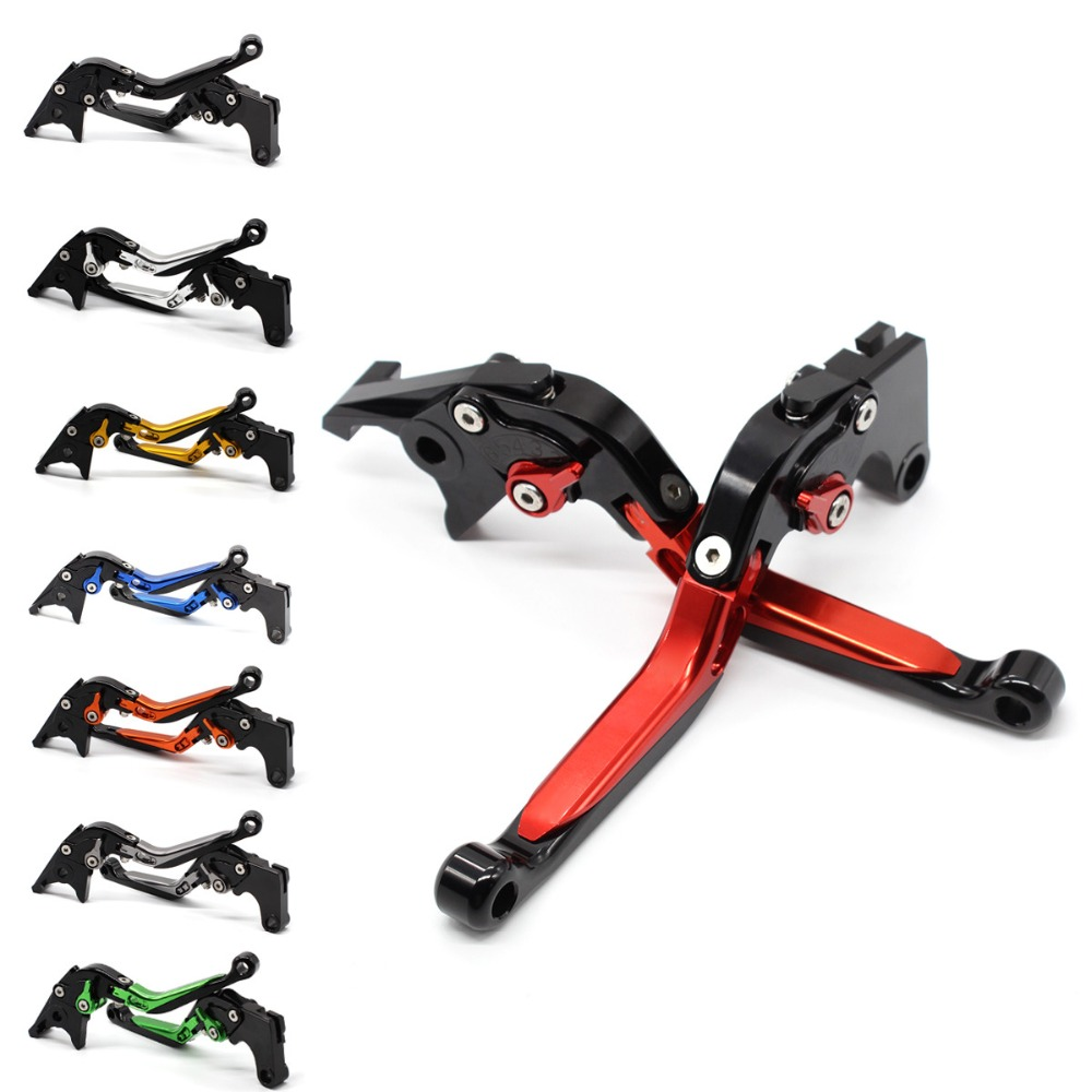 For TRIUMPH TIGER 800 XC XCX XR XRX 2015 - 2018 2016 CNC Aluminum Adjustable Motorcycle Folding Extendable Brake Clutch Lever for triumph tiger 800 xc xrx tiger 1050 1200 new motorcycle adjustable handlebar riser bar clamp extend adapter