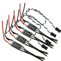 4 Pcs For RW.RC V14.2 Version BLHeli Program OPTO mini 16A/20A 30A ESC for Drone 250 FPV  F16816/18-4
