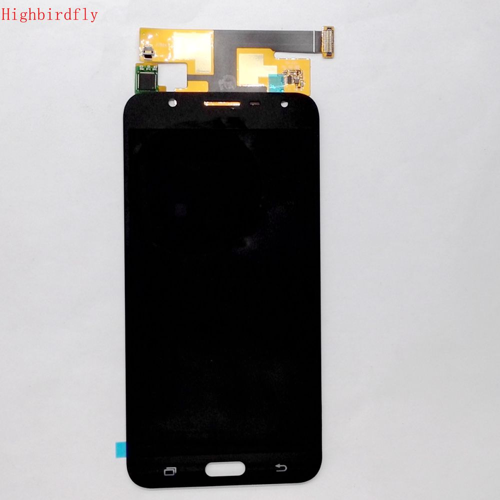 2017 For Samsung Galaxy J7 Neo J701 J701F J701MT Lcd screen Display+touch Glass Assembly TFT version Can not adjust brightness