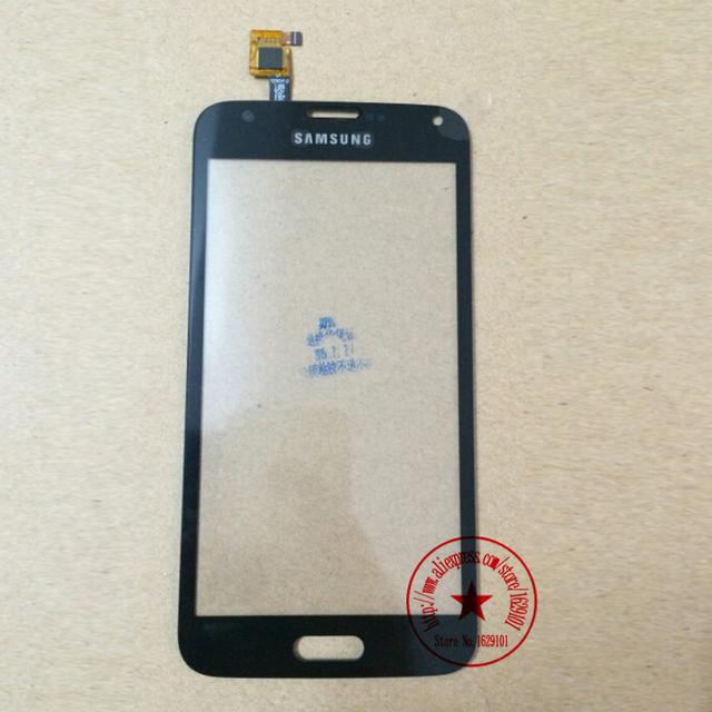 Preto Toque Digitador Da Tela Para STAR S5 G900 China Cópia Clone 9600 SmartPhone 1250V1. 0 Sensor De Lente De Vidro Do Painel substituição