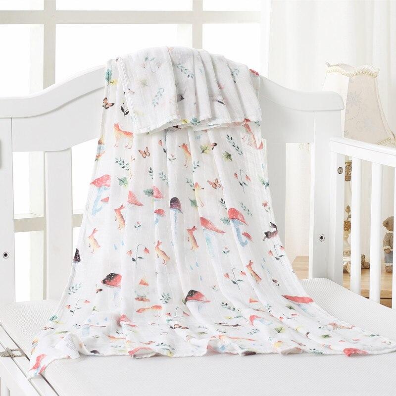 70% бамбуковое детское муслиновое одеяло для пеленания, качество лучше, чем Aden Anais, детское Многофункциональное большое одеяло для пеленок, детское одеяло - Цвет: ZM mogu