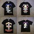 Metallica Camiseta Hombres Mujeres Alta Calidad del 1:1 Dorris Esqueleto Banda de Rock Metallica Metal Justin Bieber Camiseta Metallica Camiseta
