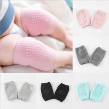Bebê crianças joelho almofada de algodão de segurança rastejando cotovelo almofada do bebê joelho crianças perna mais quente joelho apoio protetor