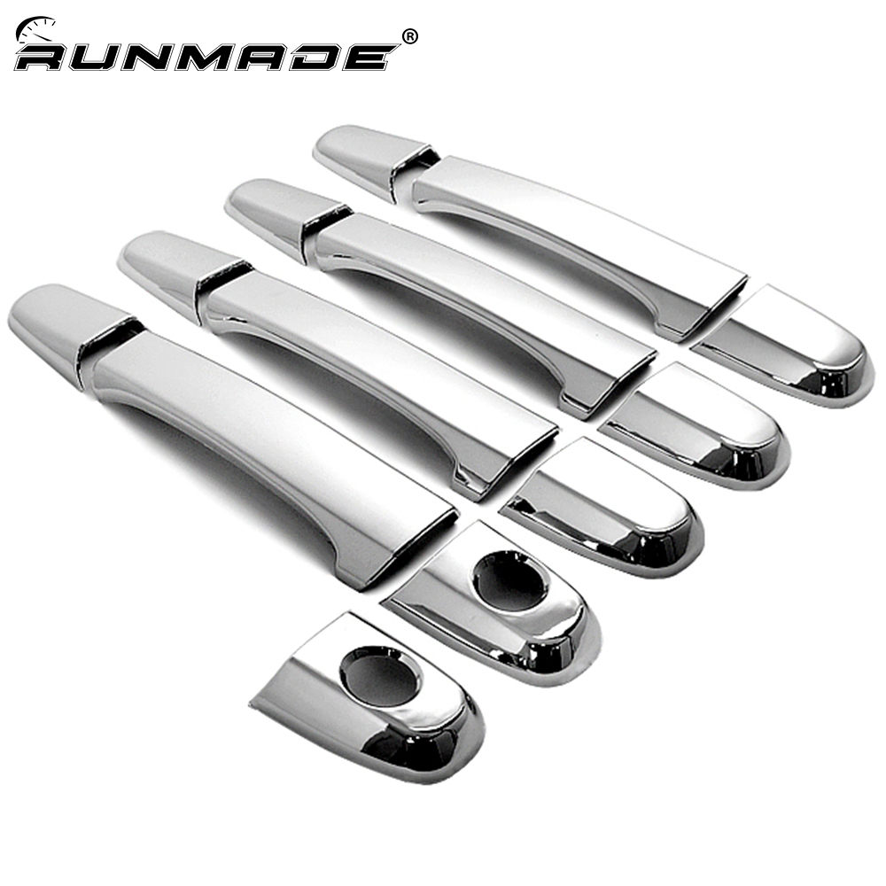 runmade 13Pcs/set Chrome Door Handle Trim Cover For <font><b>Lexus</b></font> IS200 <font><b>RX300</b></font> IS300 Toyota Harrier 1st Generation Car Styling image