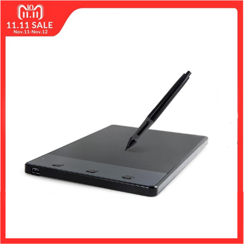 Huion 420 4-Zoll Digitaler Tabletten Schriftlich Kunst Zeichnung Grafiken Tablet Bord Elektromagnetische 4000 LPI Ebenen 0,35 watt + digitalen Stift
