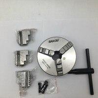 125mm 5 3 Jaw Self Centering Lathe Chuck SANOU K11 125 Metal Scroll Chucks for Drilling Milling Machine