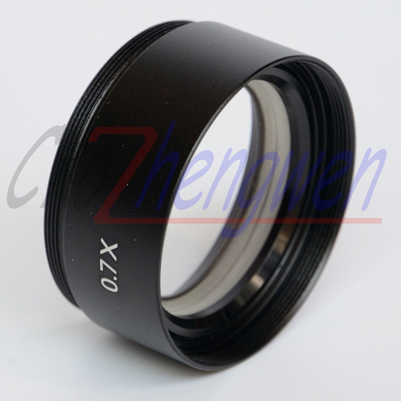 FYSCOPE SZM 0.7X objektiiv objektiiviga STEREO ZOOM mikroskoobi jaoks, OBJEKTIIV WD120mm