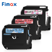 Fimax for Brother P-touch M Type Label Tape M-K231 MK231 M-K631 MK221 M-K431 M-K131 Brother P-touch Label Printer Pattern Ribbon цена