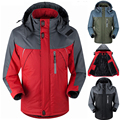 Мужские зимние куртки Вниз Парки мужчина тепловой Бархат пальто для мужчин туризм куртки верхняя одежда Chaqueta jaqueta Водонепроницаемый Ветрозащитный