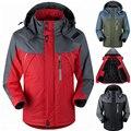 Hombres chaqueta de invierno de Down Parkas abrigo de Terciopelo termal masculina para hombres turismo chaquetas abrigos jaqueta Chaqueta a prueba de Viento Impermeable