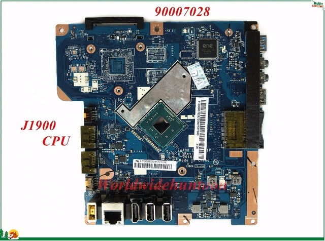 US $79 0 |High Quality MB 90007028 For Lenovo C260 AIO Motherboard ZAA00 LA  B001P SR1UT J1900 CPU Integrated DDR3 100% Tested-in Motherboards from