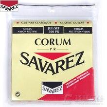 Savarez 500PR Classical Rectified New Cristal Set .027-.042 Classical Guitar String