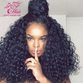 7A Brazilian Virgin Hair Deep Curly Lace Front Human Hair Wigs Full Lace Human Hair Wigs for Black Women Curly Lace Front Wig