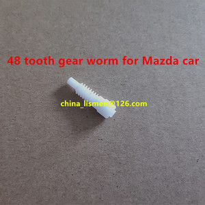 Image 5 - 1 piece 48 teeth motor Rearview mirror Metal iron gear for Mazda 6 8 car rearview mirror