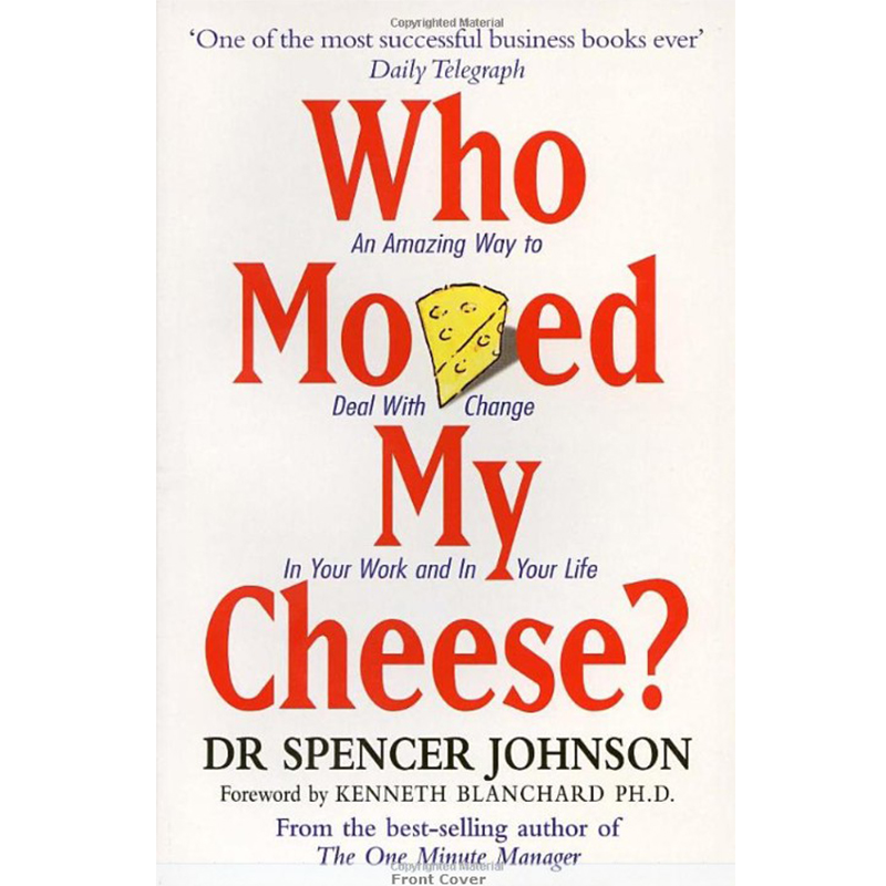Who Moved My Cheese English Version Of The Novel English For Educational Children Reading Book English Learning Language Books