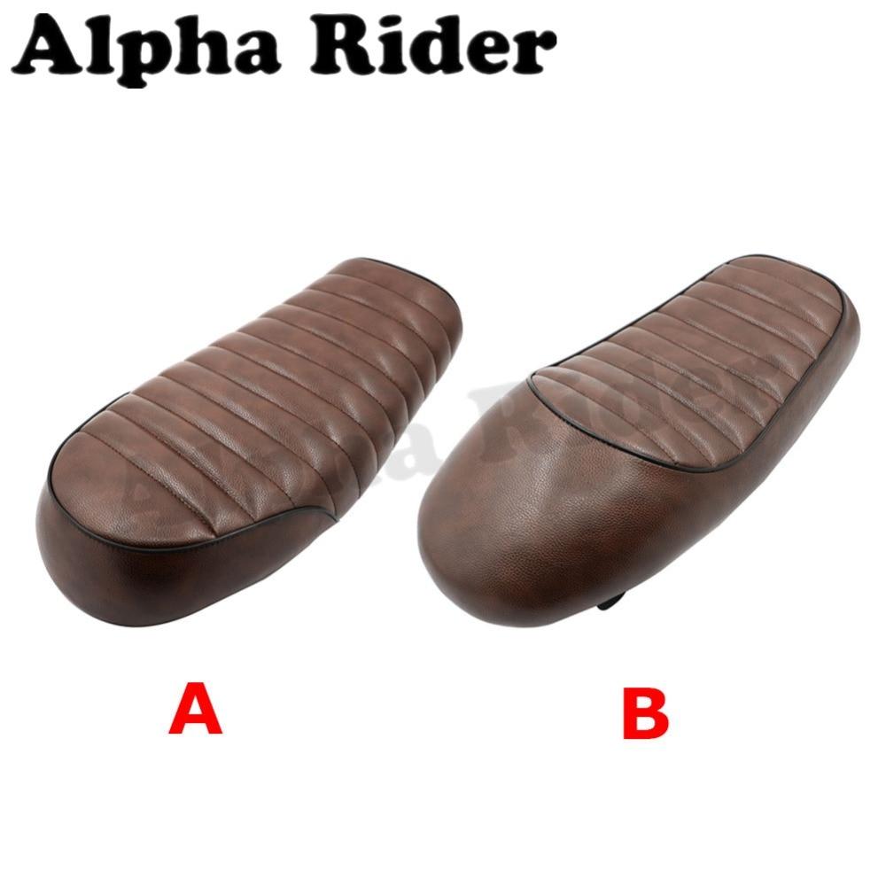 Hump Vintage Seat Driver Passenger Sitting Pad Saddle for Yamaha RD SR XJ XS XT 125 200 250 350 550 650 750 Cafe Racer Custom energiapura racer sr ai001u