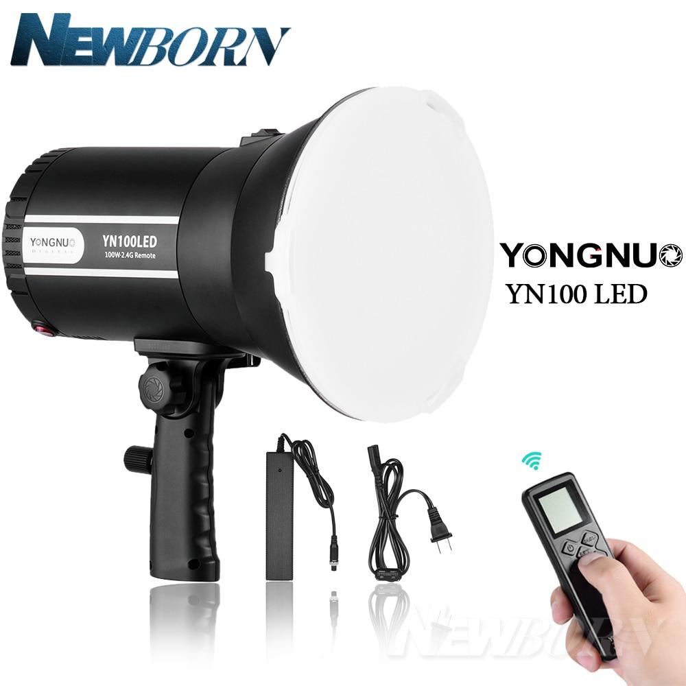 YONGNUO YN100LED YN100 LED 2 4G Wireless Remote Control 5500K Studio Photography Light for Canon Nikon