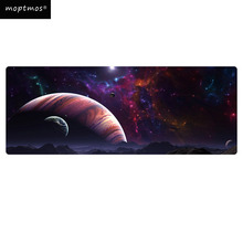 Gaming Mouse Pad Galaxy Starry Mouse Pad Large Speed Mouse Mat Non-Slip Mousepad for Laptop & PC 900*400mm недорого