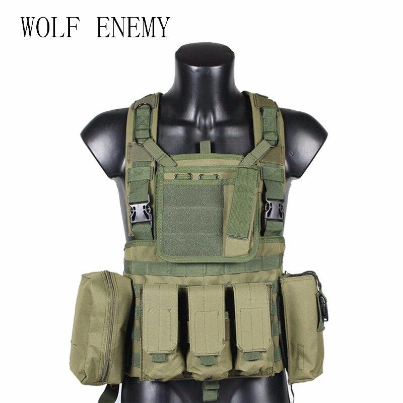 RRV Tactical Vest, Molle Vest, 600D Nylon, Airsoft Tactial Gear Colete Tatico, Black, Tan, OD Green, Woodland, CP, ACU цены онлайн