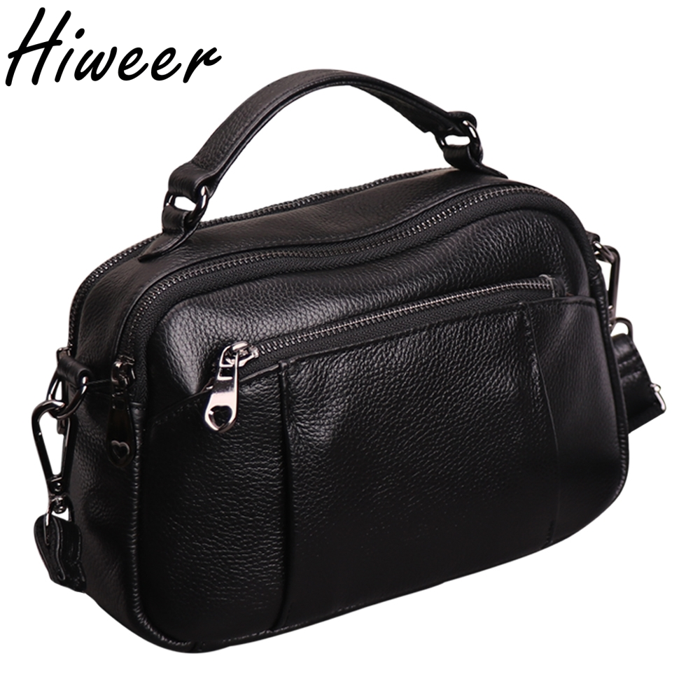 купить Hot Cross body Bags For Women Casual Candy Color Messenger Bag For Girls Flap Genuine Leather zipper Shoulder Bags High capacity недорого