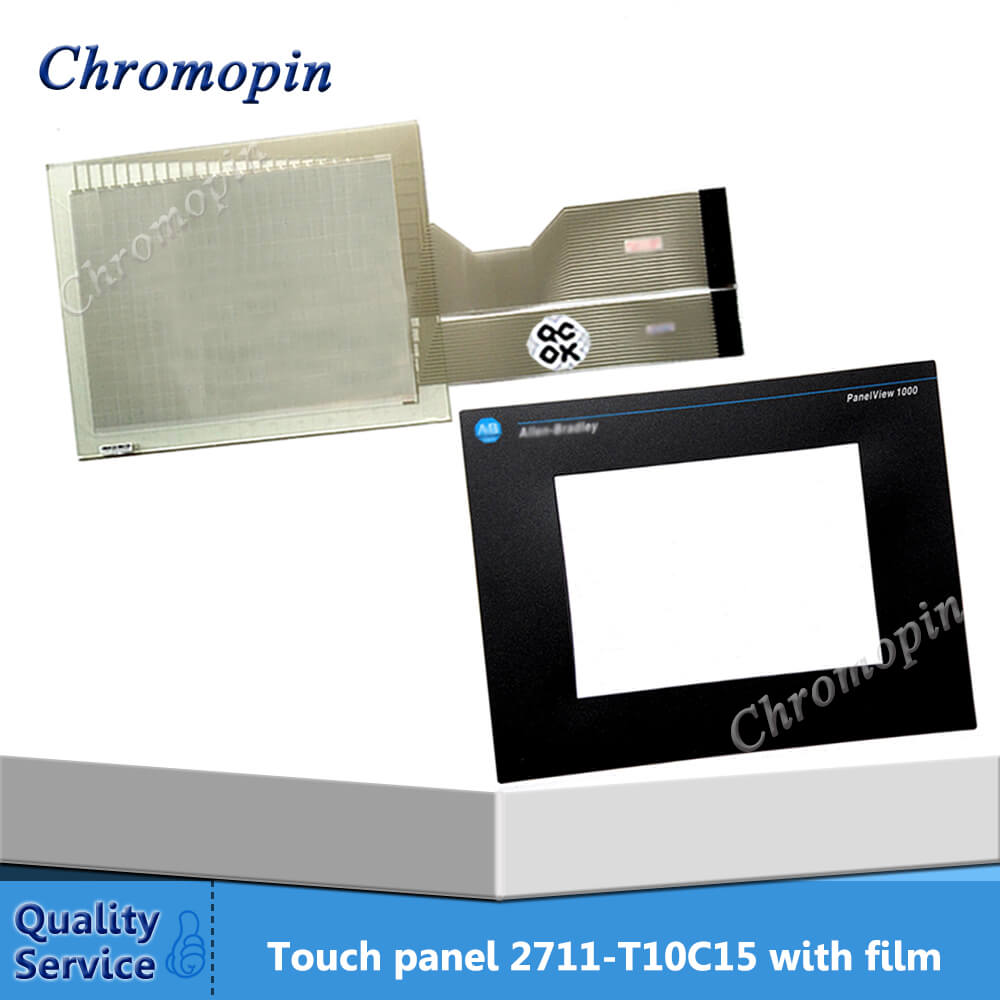все цены на Touch panel for AB 2711-T10C15 2711-T10C15L1 2711-T10G9 2711-T10G9L1 PanelView 1000 with Protective film онлайн