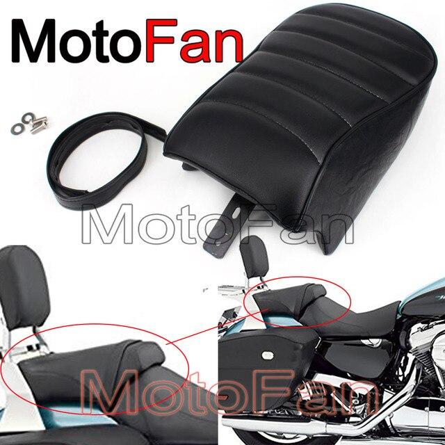 Custom Motorcycle Seats Pillion Pad Rear Passenger Seat Cushion Pads ...