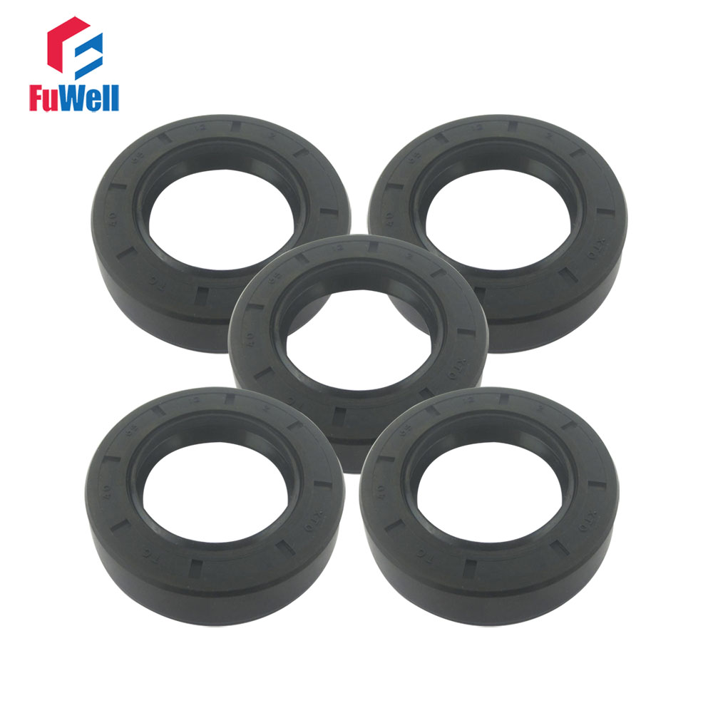 New 5pcs NBR skeleton oil seal  Sealing ring  TC25-1