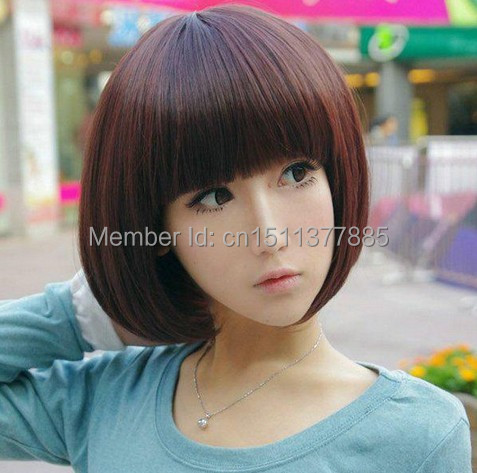 Japanese Cute Girl With Short Hair Ball Head Series Fashion Girl With Short Hair Short Hair Wig Lowest Whole Network Fashion Clothing Girls Fashion Mediafashion 1992 Aliexpress