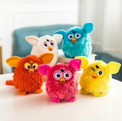 2019 Electronic Plush Toys Interactive Toy Phoebe Firbi Pets Owl Elves Recording Talking Hamster Smart Toy Doll Furbiness boom