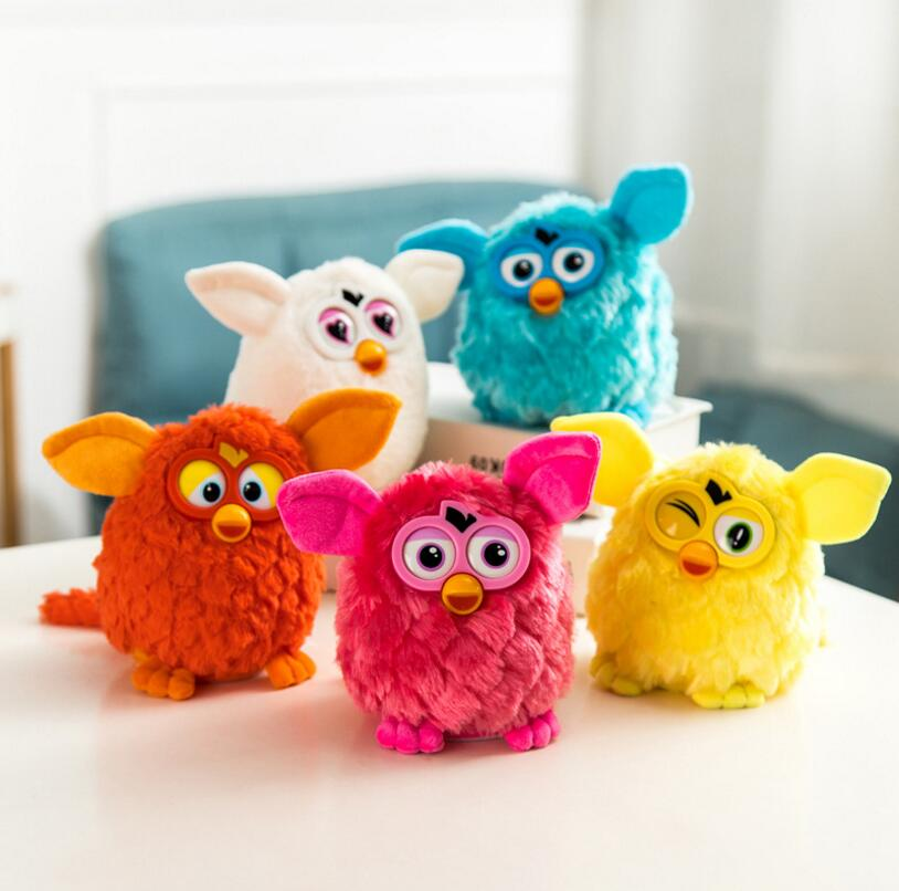 2019 elektronische Plüsch Spielzeug Interaktive Spielzeug Phoebe Firbi Haustiere Eule Elfen Recording Reden Hamster Smart Spielzeug Puppe Furbiness boom