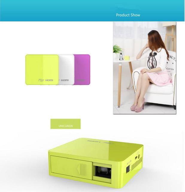 Envío gratis original UC50 mini proyector Full HD 1080 P de cine en casa cámara proyectar LED Video Home vídeo de las multimedias