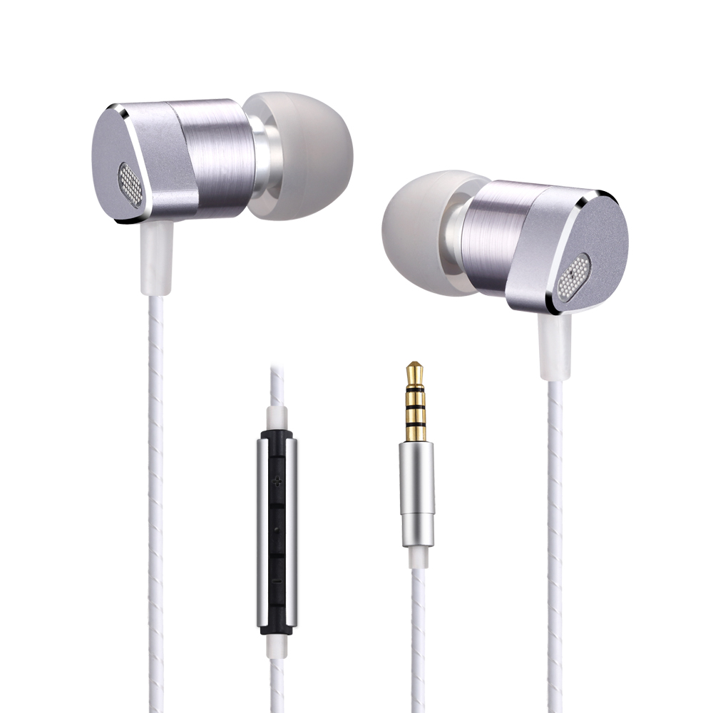 ALWUP UPC630 Hybrid Pro HD Earphone Triple Unit Drivers Dual Dynamic Balanced Armature headphone for phone Xiaomi Samsung iPhone