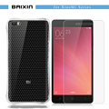 for xiaomi mi 4 4s 4i 4c 5 phone Soft TPU Air Cushion Shockproof Case for redmi note 3 2 pro+Tempered Glass Sreen Protector film