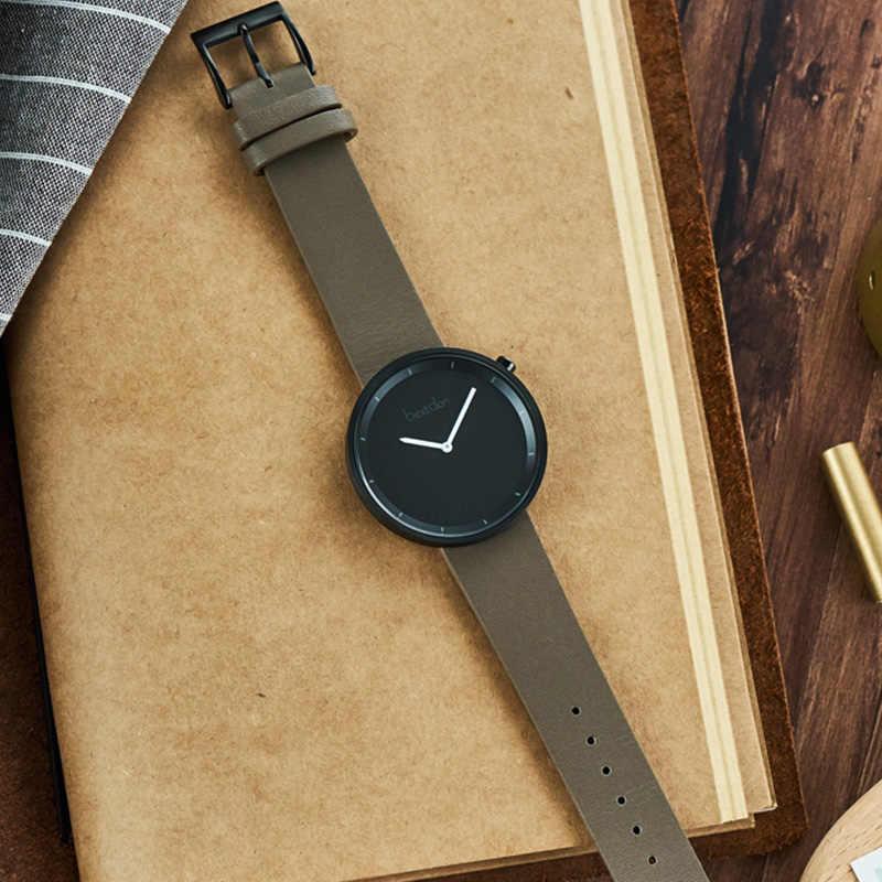 Bestdon Пара часы для влюбленных минималистский персонализированные трендовые японские кварцевые наручные часы Математика унисекс подарок на день Святого Валентина