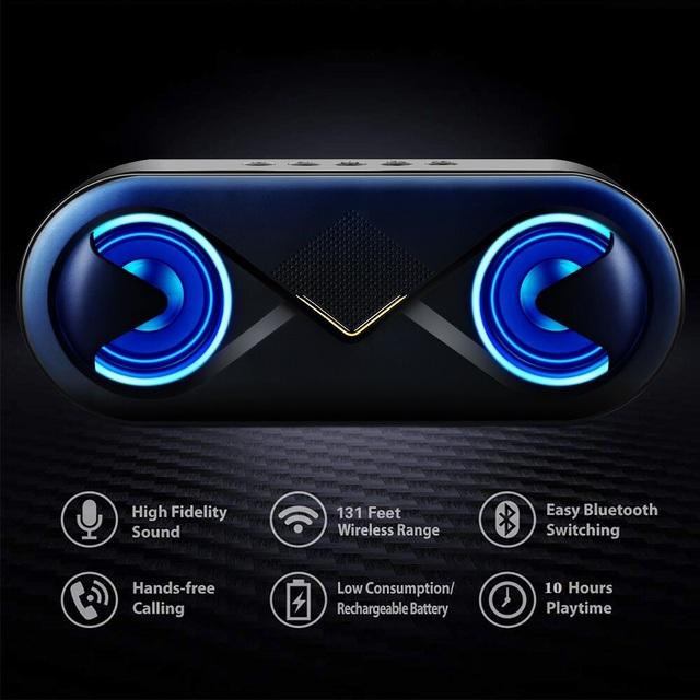 Portable Bluetooth 5.0 Speakers 10W
