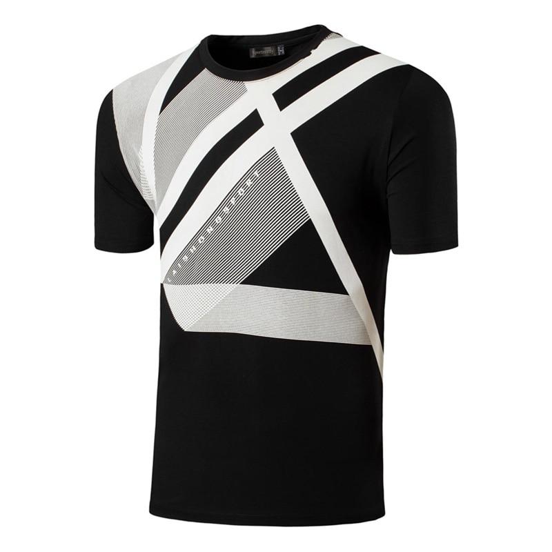 Sportrendy Män Summer Casual Short Sleeve T-Shirts Tshirts T-shirts - Herrkläder