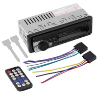 JSD 520 Car Radio Stereo Music Player Bluetooth Phone MP3 Remote Control 12V Car Audio Vehicle