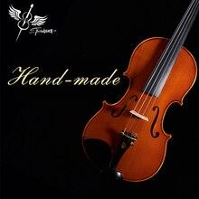 Grande Stradivarius1716 скрипка Tittan 4/4 скрипка Violino Madeira Europeia Desempenho Profissional Para Ou Adulto превосходный масляный лак