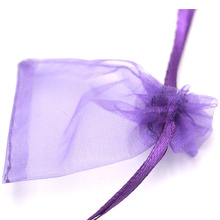 500pcs 5x7cm Handmade Useful Beatiful Organza Bags Jewelry&Gift Display&Packaging Christmas Gift Can be Customized