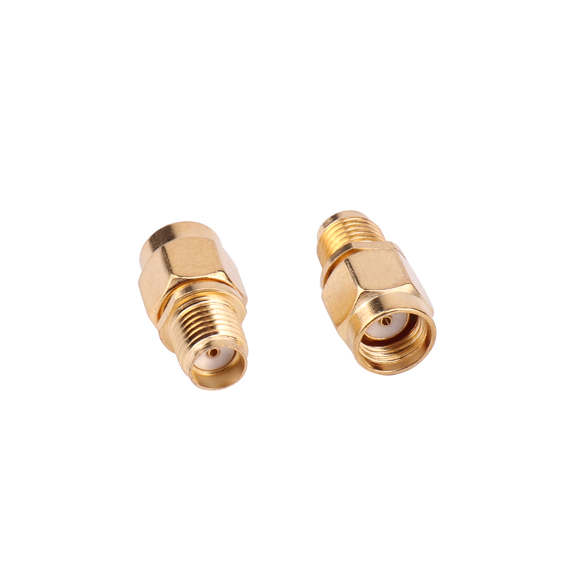 SMA male plug To RP-SMA female both male center Straight RF connector Adapter Gx
